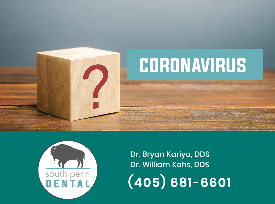 Coronavirus Update to Patients